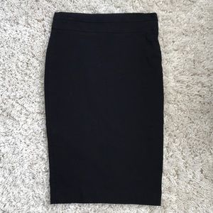 RW& Co Basic Black Pencil Skirt